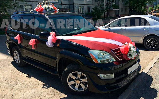 Аренда Lexus GX 470 на свадьбу Харьков