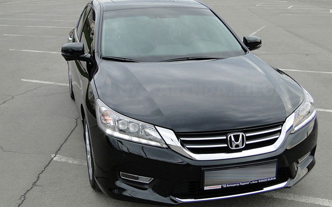 Аренда Honda Accord New на свадьбу Харків