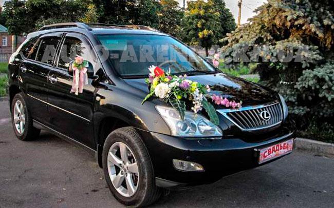 Аренда Lexus RX (второе поколение) на свадьбу Харьков