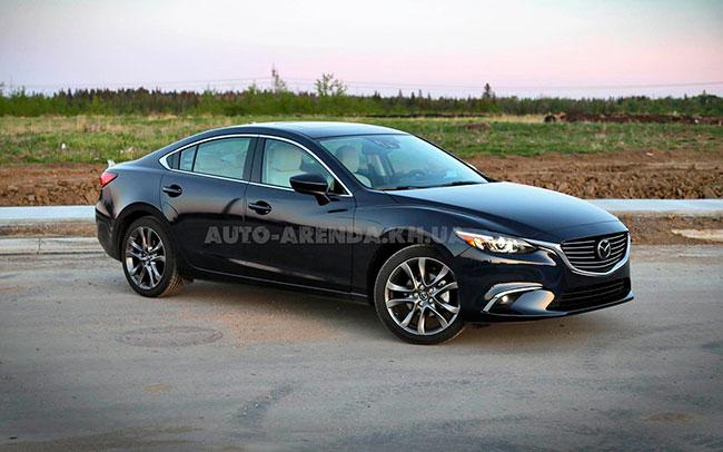 Аренда Mazda 6 New на свадьбу Харьков