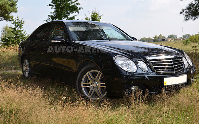 Аренда Mercedes E-Class W211 на свадьбу Харків