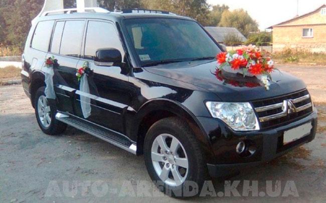 Аренда Mitsubishi Pajero Wagon на свадьбу Харьков