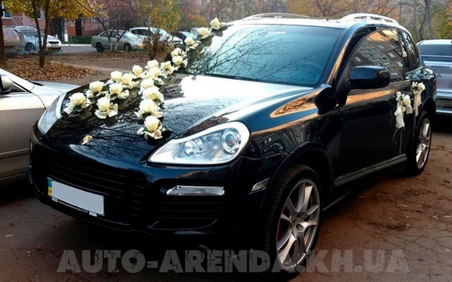 Аренда Porsche Cayenne на свадьбу Харьков
