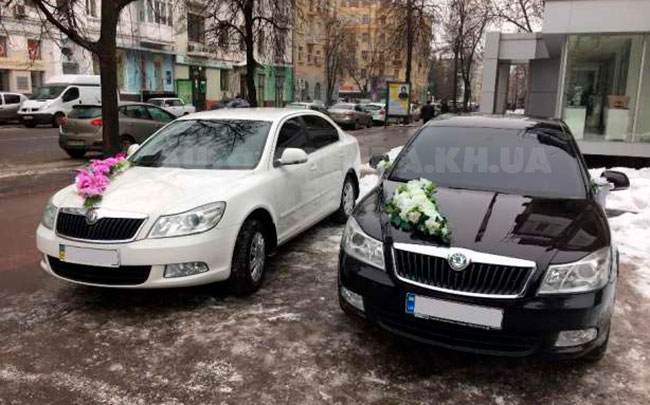 Аренда Skoda A5 на свадьбу Харків