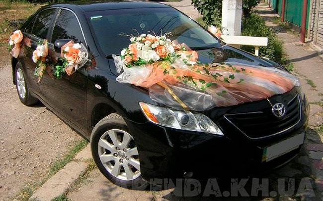 Аренда Toyota Camry 40 на свадьбу Харків
