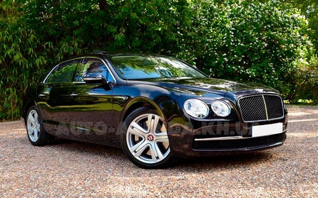 Аренда Bentley Continental Flying Spur на свадьбу Харьков