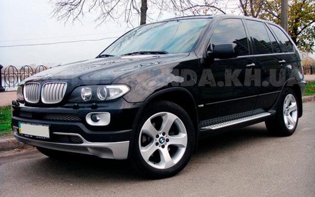Аренда BMW X5 (E53) на свадьбу Харьков