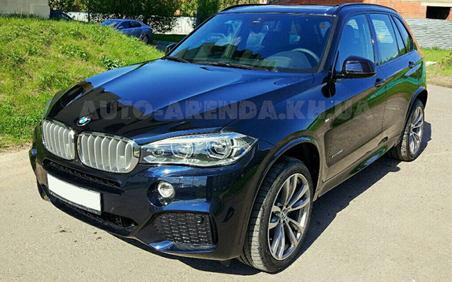 Аренда BMW X5 New на свадьбу Харьков