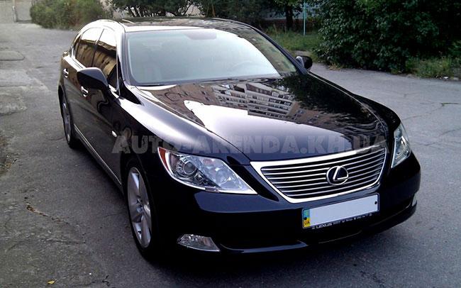 Аренда Lexus LS на свадьбу Харків