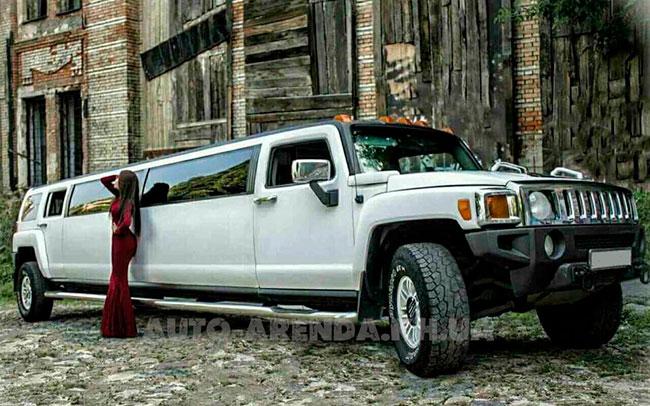 Аренда Лимузин Hummer H3 на свадьбу Харьков