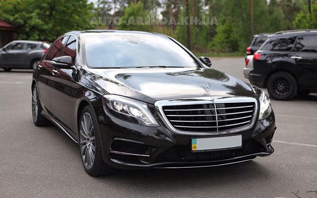 Аренда Mercedes S-Class W222 на свадьбу Харків