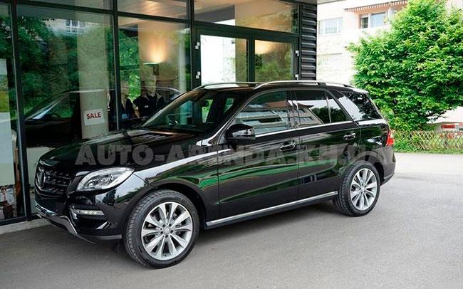 Аренда Mercedes ML на свадьбу Харьков