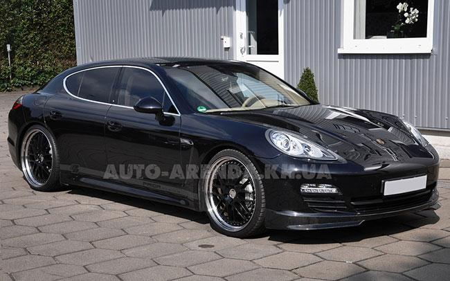 Аренда Porsche Panamera на свадьбу Харків