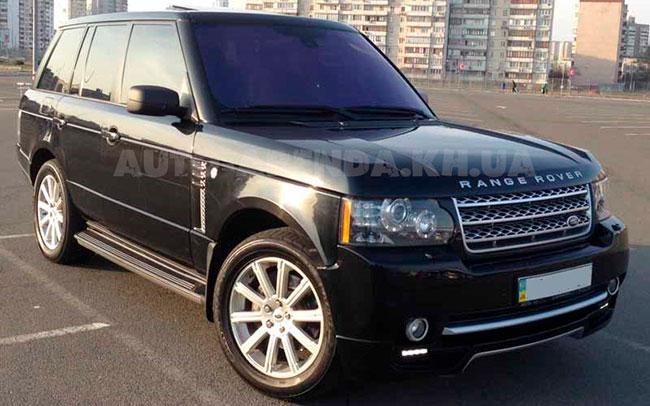 Аренда Range Rover Voge на свадьбу Харьков