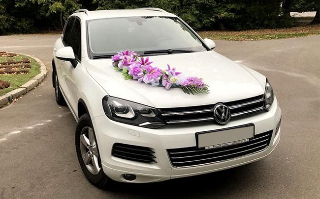 Аренда Volkswagen Touareg на свадьбу Харьков