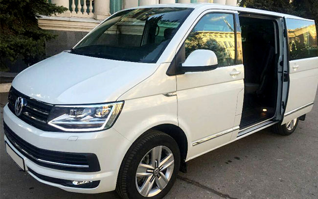 Аренда Volkswagen Caravelle на свадьбу Харьков