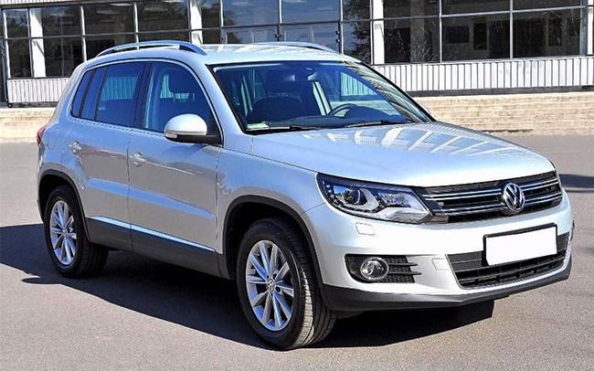 Аренда Volkswagen Tiguan на свадьбу Харьков