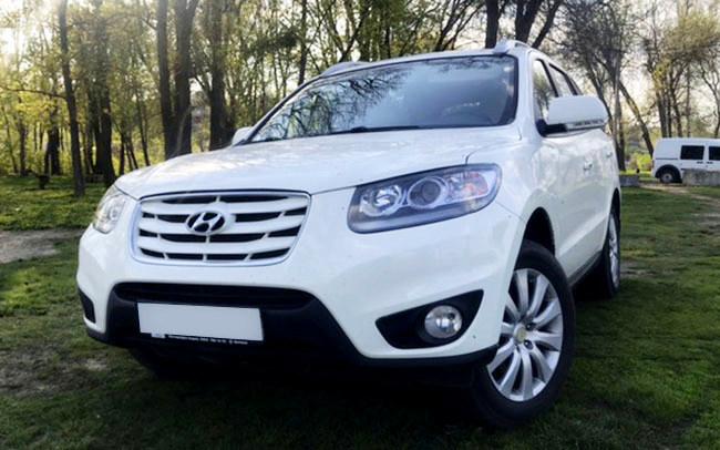 Аренда Hyundai Santa Fe на свадьбу Харків