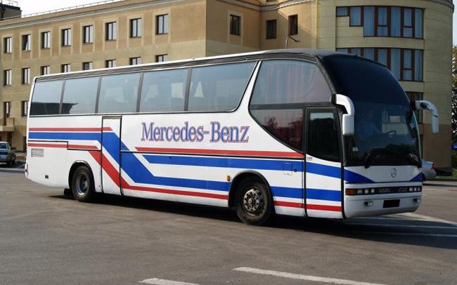 Аренда Автобус Mercedes 0404 на свадьбу Харьков