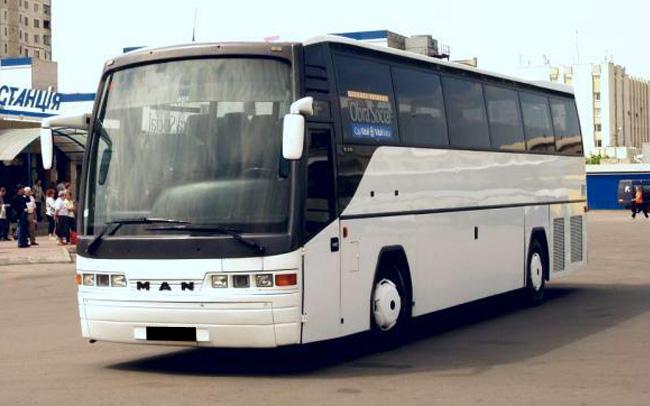 Аренда Автобус MAN 18.370 HOLC на свадьбу Харьков