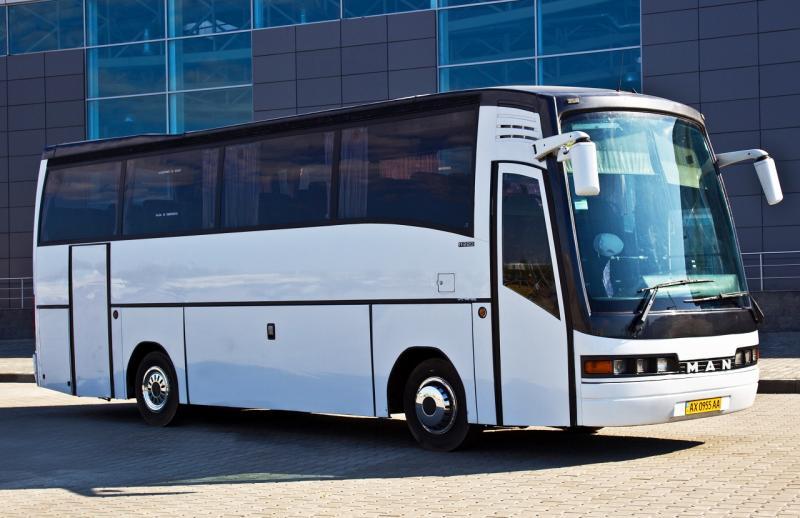 Аренда Автобус MAN 11.220 на свадьбу Харьков