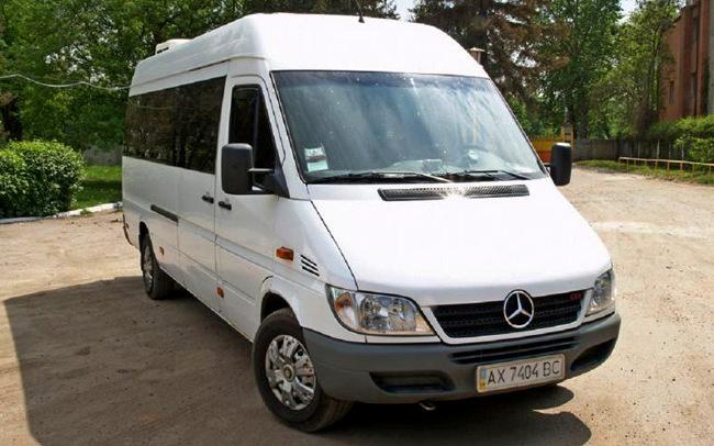 Аренда Mercedes Sprinter 316 на свадьбу Харьков
