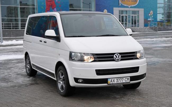 Аренда Volkswagen Multivan на свадьбу Харьков