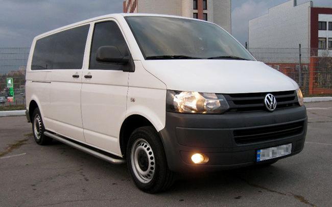 Аренда Volkswagen Transporter на свадьбу Харьков
