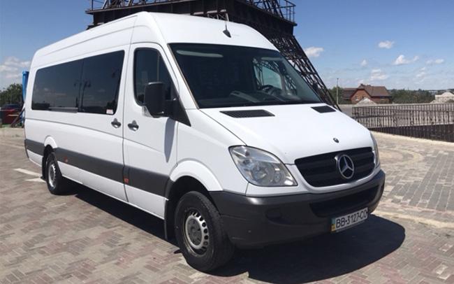 Аренда Микроавтобус Mercedes Sprinter на свадьбу Харьков