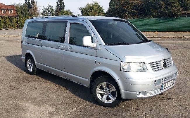 Аренда Volkswagen Transporter T5 на свадьбу Харьков