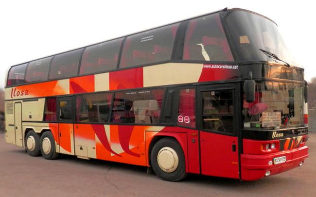Аренда Автобус Neoplan Liosa на свадьбу Харьков