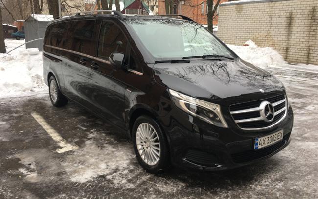 Аренда Mercedes V-Class Extralong на свадьбу Харьков
