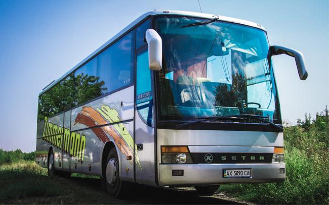 Аренда Автобус Setra 315 GT HD на свадьбу Харьков
