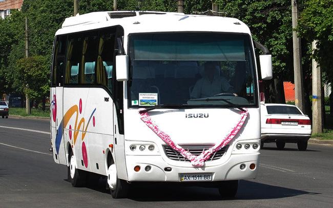 Аренда Автобус Isuzu Turkuaz на свадьбу Харьков