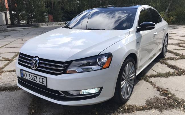Аренда Volkswagen Passat B7 на свадьбу Харьков