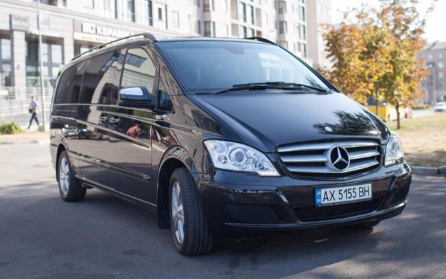 Аренда Микроавтобус Mercedes Viano VIP на свадьбу Харьков
