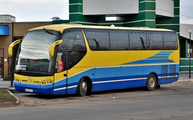 Аренда Автобус Mercedes Ayats Atlas на свадьбу Харьков