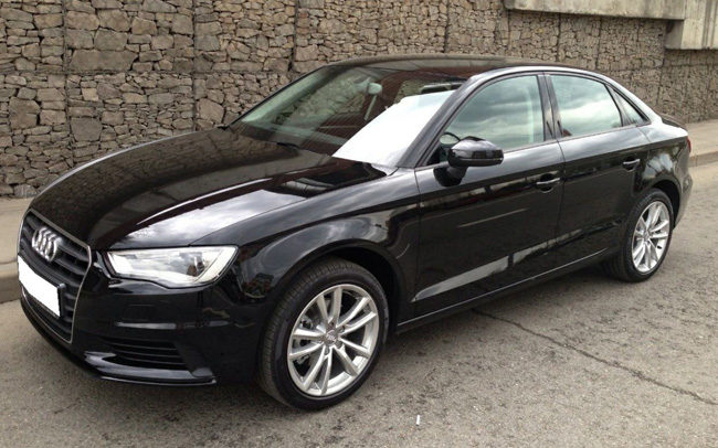 Аренда Audi A3 на свадьбу Харьков