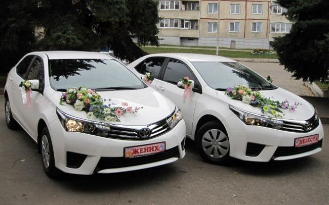 Аренда Toyota Corolla New на свадьбу Харьков